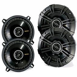 "4) New Kicker 40CS54 5.25"" 450W 2-Way Car Coaxial Speakers S"