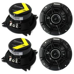 "4) Kicker 41DSC44 D-Series 4"" 240 Watt 4-Ohm 2-Way Car Audio"