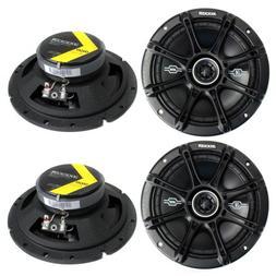 "4) Kicker 41DSC674 D-Series 6.75"" 480W 2-Way 4-Ohm Car Audio"