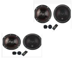 """4 Audiopipe, 6-3/4"""" Component Car Speakers 175 W Rms, 350w P"""
