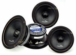 """4 Audiopipe APMB-6SB-C Two Pair 6-6.5"""" Sealed Back Full Rang"""