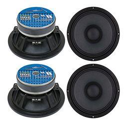 "4) Audiopipe APMB8 8"" 2000W Low/Mid Bass Frequency Loudspeak"