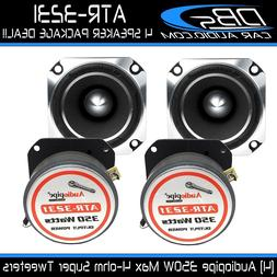 "4 Audiopipe ATR-3231 3"" Super Loud Bullet Tweeter 1400W 4-oh"