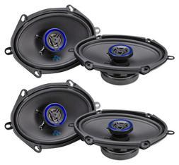 """AUTOTEK ATS5768CX 5x7""""/6x8"""" 1000 Watt 2-Way Car Audio Coaxi"""