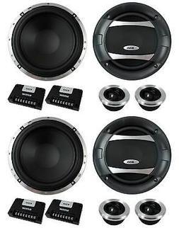 "4) BOSS AUDIO PC65.2C 6.5"" 1000W Car 2 Way Component Speaker"