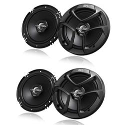 JVC CS-DR6201MW 6-1//2 Inch 2-Way Coaxial Speakers White