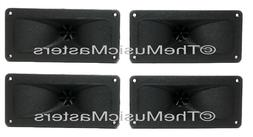 "Flush Mount 2"" x 5"" inch Super Horn TWEETERS Speakers Car A"