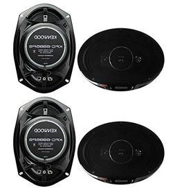 """4) New Kenwood KFC-6985PS 6x9"""" 1200 Watt 4-Way Car Audio Coa"""