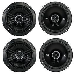 "4) Kicker 43DSC504 D-Series 5.25"" 400W 2-Way 4-Ohm Car Audio"