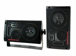 Pyramid 2060 300W 3-Way Car Audio Mini Box Speakers Indoor S