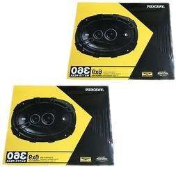 """4) New Kicker 41DSC6934 D-Series 6x9"""" 720 Watt 3-Way Car Aud"""