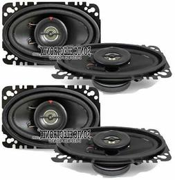 "New! Kenwood KFC-4675C 4x6"" 120 Watt 2-Way Car Audio Speake"