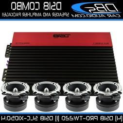 4 DS18 PRO-TW220 Super Bullet Tweeter Speaker | SLC-X1050.4