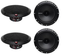 "4) New Rockford Fosgate R1675X2 6.75"" 180W 2 Way Coaxial Car"