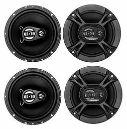 "4) Soundstorm SSL EX365 6.5"" 300W 3-Way Car Coaxial Audio Bl"