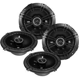 "4 x Kicker 41DSC654 D-Series 6.5"" 480 Watt 2-Way 4-Ohm Car A"