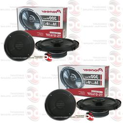 "4 x PIONEER TS-G1620F 6.5"" CAR AUDIO 2-WAY COAXIAL SPEAKERS"