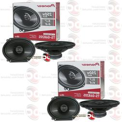 4 x PIONEER TS-G6820S 6x8-INCH CAR AUDIO 2-WAY COAXIAL SPEAK