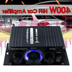 400W 2CH Car Amplifier Amp Stereo Hifi Subwoofer Sound Speak