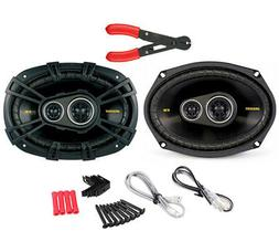 "Kicker 40CS6934 6""x9"" 3-way Car Speakers"