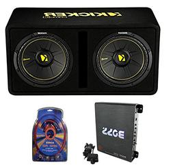 "Kicker 44DCWC122 12"" 1200W Car Audio Subwoofer Sub Enclosure"