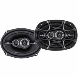 """Kicker 41DSC6934 D-Series 6x9"""" 360 Watt 3-Way Car Audio Coax"""