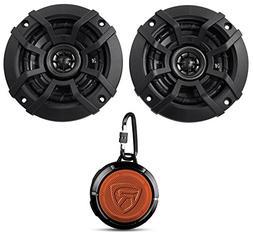 Kicker CSC4 4-Inch  Coaxial Speakers, 4-Ohm Bundle