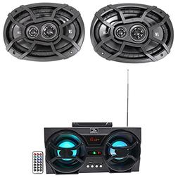 "KICKER 43CSC6934 6x9"" 900w 3-Way Car Audio Speakers CSC693"