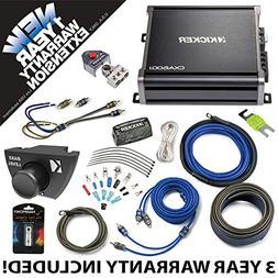 Kicker 43CXA6001 Car Audio Sub Amp CXA600.1 with Remote & 4