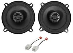 """5.25"""" Alpine S Rear Factory Speaker Replacement Kit For 2006"""