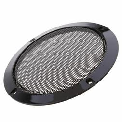 5 Inch Car Speaker Dust Cover Metal Mesh Grille Decoration C