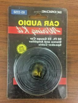 Scosche 50 Ft. 22 Gauge Car Stereo & Amplifier Speaker Cable