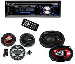 Boss 508UAB In Dash CD Car Player USB/SD MP3 Receiver Blueto