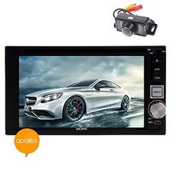 EinCar 6.2'' Android 5.1.1 Car DVD Player Touch Screen 2 Din