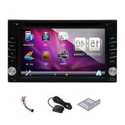 Hot sale 6.2''Wince car dvd gps player Bluetooth GPS Nav car