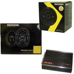 """Kicker 6.5"""" 240 Watt 2-Way Speakers DS693 6""""x9"""" 4 Channel 12"""