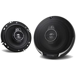 "Kenwood 6.5"" 3 Way 320W Flush Mount Coaxial Car Stereo Speak"