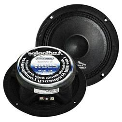 "Audiopipe 6.5"" APMB Series Flat Mount 250W Max Low Midrange"