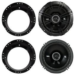 """Kicker 6.5"""" Inch Car Motorcycle ATV Speakers For Harley Davi"""
