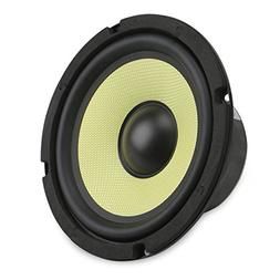 DROK 6.5'' Subwoofer Hifi Speaker Glass Fiber Mid-bass 4