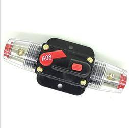 60A/60AMP Auto Car Protection Stereo Switch Fuse Holders Inl