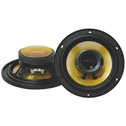 Pyramid 652GS Yellow Label Series 2-Way Car Speakers 6.5 200