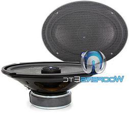 6x9 CDT Audio HD-690CFX Carbon Fiber Coaxial Speakers