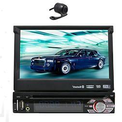Hot Sale 7'' 1 din GPS Car DVD Player digital touchscreen Ca