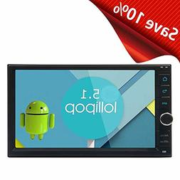 EinCar 7'' Capacitive Screen Car Stereo 16GB ROM Android 5.1