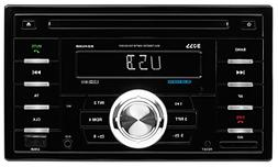 BOSS AUDIO 824UAB Double-DIN CD/MP3 Player Receiver, Bluetoo