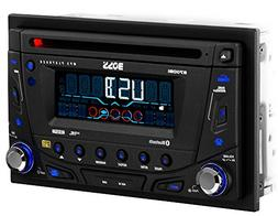 BOSS AUDIO 870DBI Double-DIN CD/MP3 Player Receiver, Bluetoo