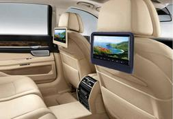"9"" Car Headrest DVD Player 800 x 480 LCD Backseat Monitor Bu"
