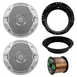 98-13 Harley Speaker Bundle: 2x JBL MS6510 6.5-Inch 150 Watt