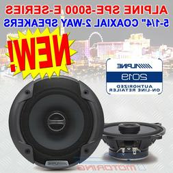 Alpine S-S40 S-Series 4-inch Coaxial 2-Way Speakers  - Conta